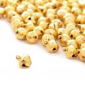 Бубенчик  6мм  цв.золото уп.1шт