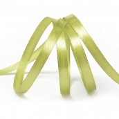 "Лента атласная 1/4"" (6мм) цв.3146 св.оливковый IDEAL 1м"