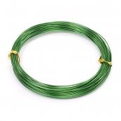 Проволока O 1мм цв.25 зеленый рул.10м