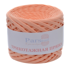 Пряжа PARSWOOL Трикотажная пряжа Абрикос 17