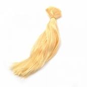 Трессы прямые  цв.P612 блондин B-50 см, L-30см уп.2шт