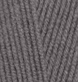 Пряжа Alize LANAGOLD цв. серый 5 мотков
