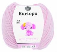 Пряжа Amigurumi  50г 130 м нежно-розовый