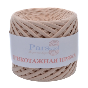 Пряжа PARSWOOL Трикотажная пряжа Беж 19