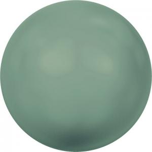 """Бусина стеклян """"Сваровски"""" 5810 6 мм 5 шт под жемчуг  кристалл св.зеленый (jade 715)"""