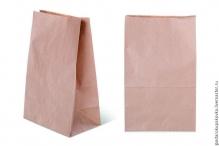 Крафт пакет бурый с прямоугольным дном, 22*12*29 см, 70г/м