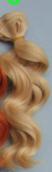 Трессы  вьющиеся BJD  15 см * 100 см блонд1 №8