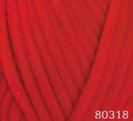 Пряжа DOLPHIN BABY (80318) красный