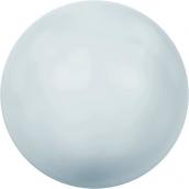 """Бусина стеклян """"Сваровски"""" 5810 6 мм 5 шт под жемчуг  кристалл нежно-голубой (blue 966)"""