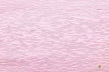 Бумага гофрированная Италия 50см х 2,5м 140г/м2 цв.949 св.розовая
