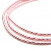 Канитель мягкая, гладкая глянец, цв.нежно-розовый 1мм уп.10 г