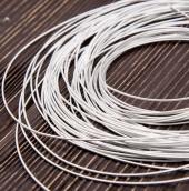 Канитель жесткая серебро 0,9 5гр