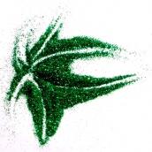 Блестки цветные металлик ,25 гр Зеленый