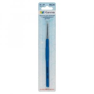 Крючок  с прорезин. ручкой   сталь RCH d 1.50 мм  13 см  в блистере  d 1.50 мм