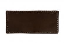 """застежки и ручки для сумок """"Gamma""""   ZKS-002   Донце для вязаной сумки, прямоугольное № 002 Коричневый"""