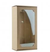 Коробка с окном F1.1 МГК бурый, 230х120х80