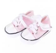 Кеды для кукол 7см розовые