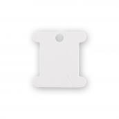 Принадлежности для вышивания   Бобина картон для мулине -002  100 шт  белый