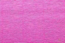 Бумага гофрированная Италия 50см х 2,5м 140г/м цв.розовый