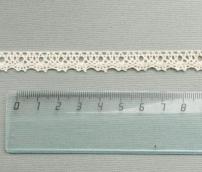 Кружево 100% хлопок,  11 мм, беж