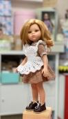 Школьная форма рукав короткий на куклу Paola Reina
