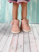 Ботики для куклы розовые 5.5 см