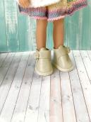 Ботики для куклы айвори 5.5 см