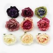 Цветы из ткани микс 5см