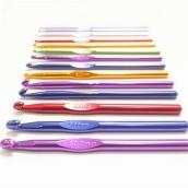 Крючок для вязания металл с покрытием №10