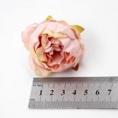 Пион из ткани цв.кремовый 5см