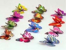 Бабочки на булавке 7*5,5см