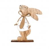 Деревянная фигура Заяц 15*9,5см