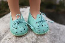 Туфельки 5см (подходят на куклу Paola Reina) цв.мята