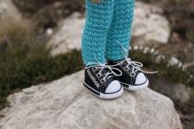 Кроссовки 5см (подходят на куклу Paola Reina) цв.черный