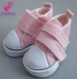 Ботиночки для кукол  на липучке 5см роз