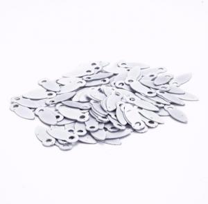 Анкеры металлич. белые 10шт