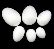 """Заготовка из пенопласта """"Яйцо"""" 6см"""