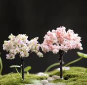 Цветы сакуры 6см