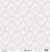 "Лист  бумаги ""Текстурная"", размер 30,5 х 30,5 см,""Обои"""