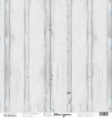 """Лист  бумаги """"Текстурная"""", размер 30,5 х 30,5 см, """"С синевой"""""""