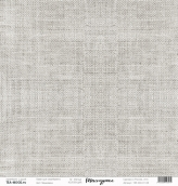 "Лист  бумаги ""Текстурная"", размер 30,5 х 30,5 см, ""Мешковина"""