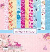 Набор бумаги Сны о Японии 30,5х30,5 см 190 гр/м,  (6 двустор)
