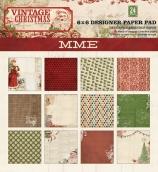 Набор бумаги 15*15 см 24 листа My Mind's Eye Vintage Christmas