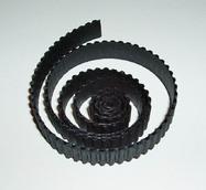 Гофро-полоски  черный