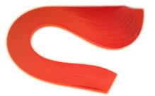 Бумага для квиллинга, ярко-оранжевый, ширина 3 мм