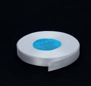 Лента атласная 12мм х 1м  белый