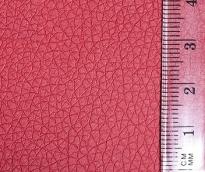 Кожа искусственная 20х30см толщ.0,85мм цв.красный уп.2листа
