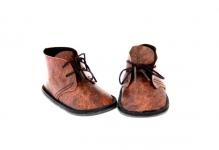 Ботиночки для кукол  8,5см, 1 пара цв.коричневый