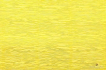 Бумага гофрированная Италия 50см х 2,5м 140г/м2 цв.975 лимонно-желтый