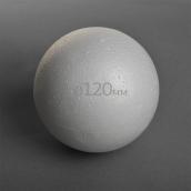 Шар из пенопласта O120мм гладкий